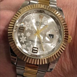 Accessories - Date Just Gold & Silver Watch